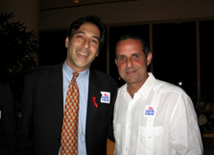 Michael Wallman and Manny Diaz