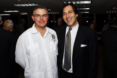 Michael Wallman and  Miami-Dade Commissioner Bruno A. Barreiro