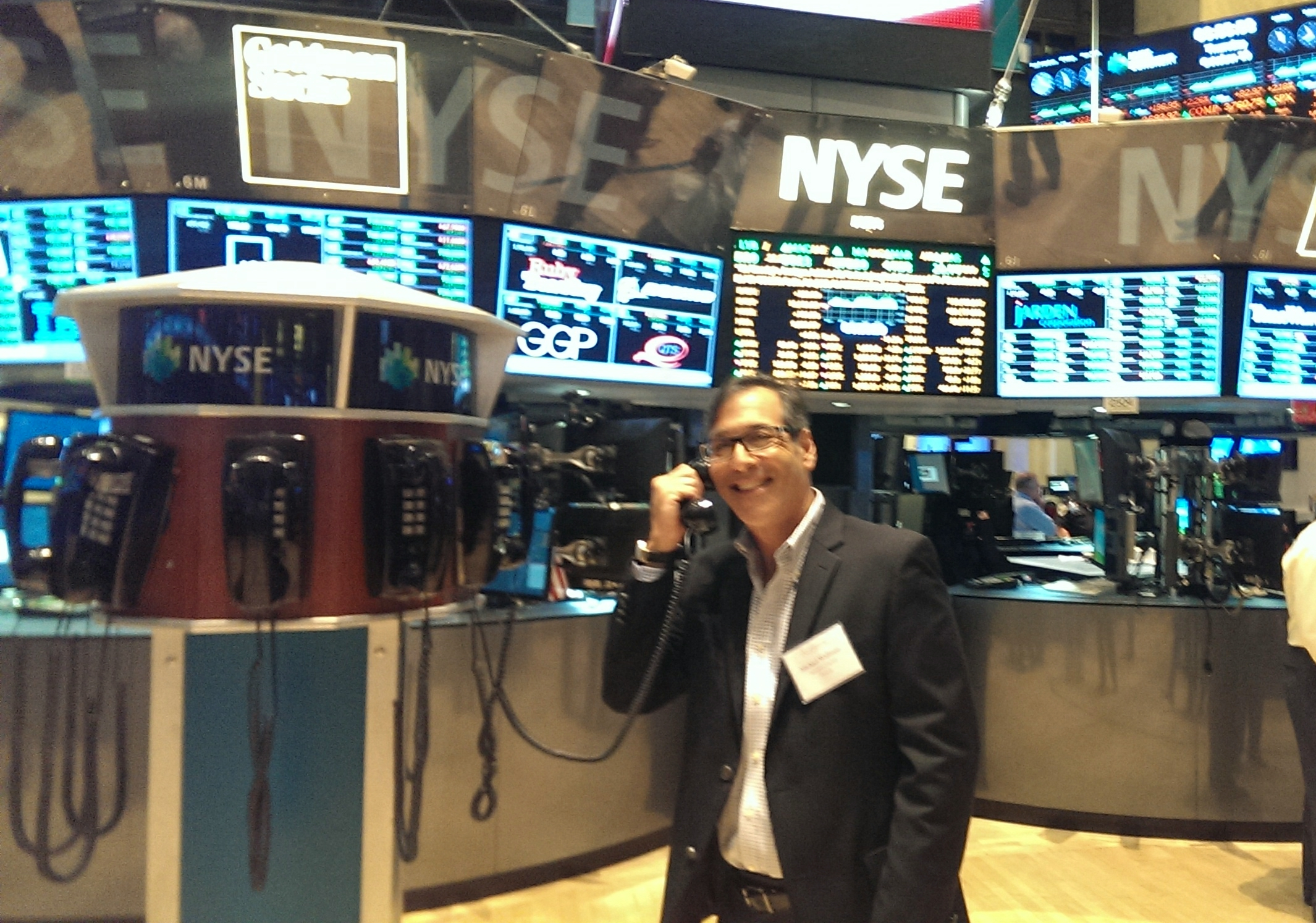 Oct 2013 at NYSE on the Floor - Phone Orders