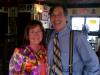 Michael Wallman with Orange County Mayor Teresa Jacobs