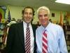 Michael Wallman and Florida Governor Charlie Crist
